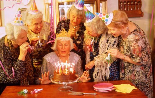 Сценарий с днем рождения для пожилых людей