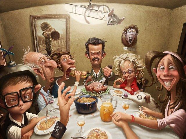 Праздник семейный сценарий