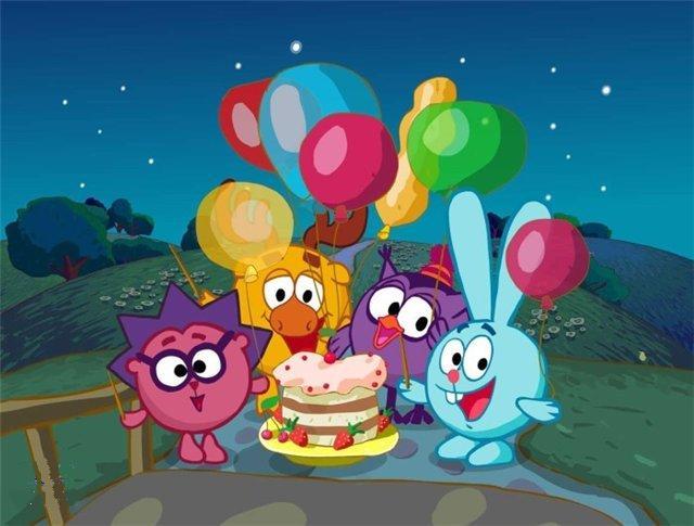 Поздравление девочке с днем рождения 4 года картинки 11