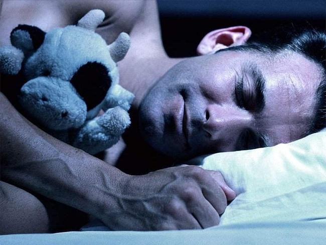 Секс в постели спокойной ночи