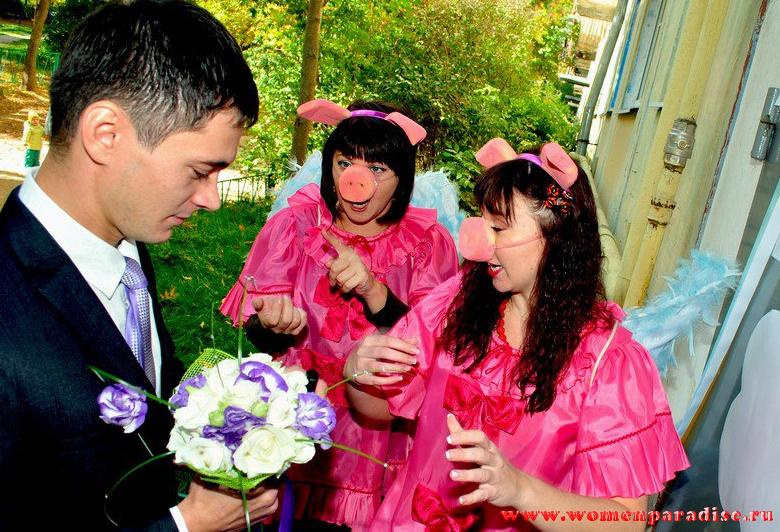 Выкуп невесты в стихах с конкурсами сценарий