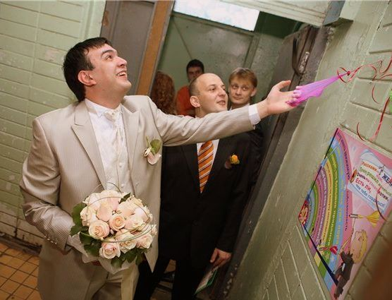 Смешные конкурсы на выкуп невесты