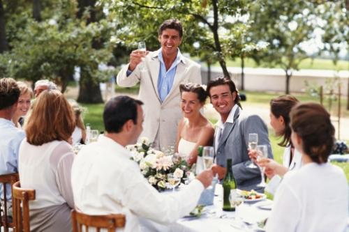 Поздравления тосты крестного на свадьбе