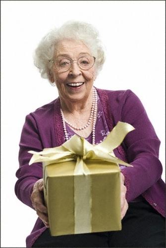 Поздравления для бабушки от внуков.
