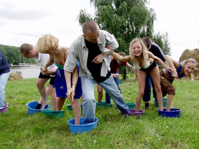 Игры на природе - Игры для взрослых вечеринок - Fome ru